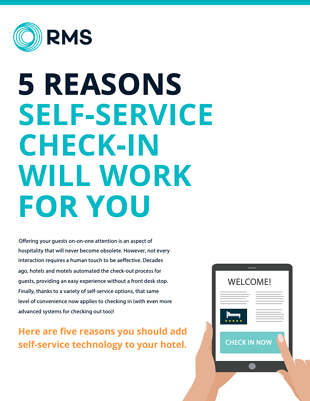 5 reasons self check in will work for you